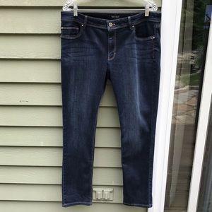 White House Black Market Slim Leg Jeans  Sz 14S